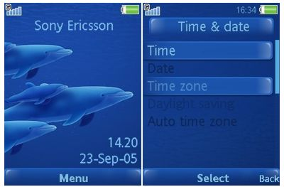 تم سونی اریکسون دلفین